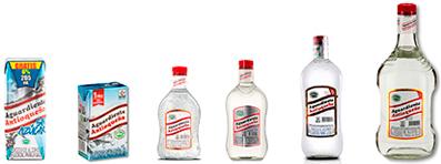 familia-botellas-tapa-roja